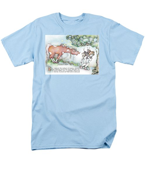 Fickle Creatures Foto Men's T-Shirt  (Regular Fit) by Dawn Sperry