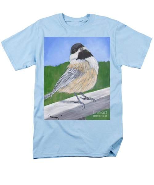 Finch Men's T-Shirt  (Regular Fit) by Patricia Cleasby
