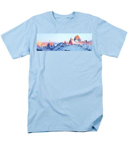 Fitz Roy Peak Men's T-Shirt  (Regular Fit) by Phyllis Peterson