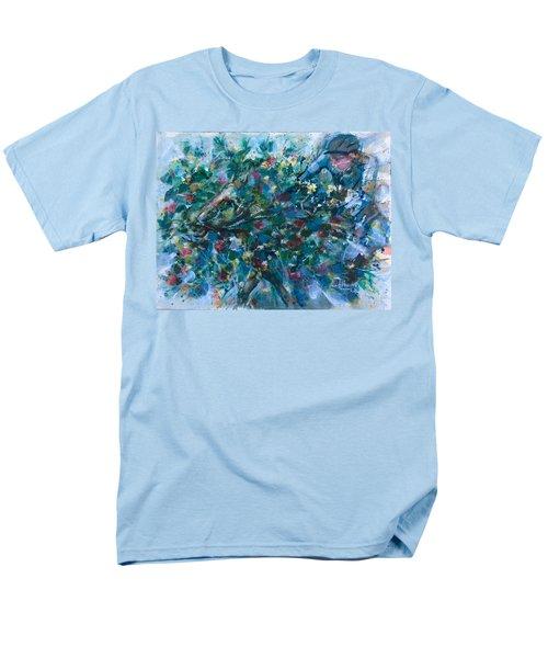 Flow Away Men's T-Shirt  (Regular Fit) by Laila Awad Jamaleldin