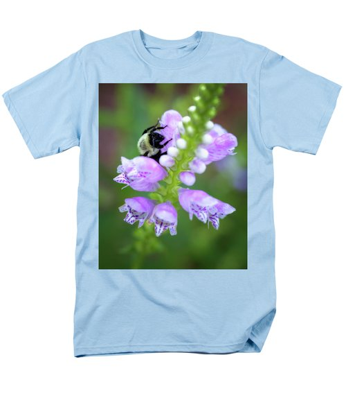 Men's T-Shirt  (Regular Fit) featuring the photograph Flower Climbing by Eduard Moldoveanu