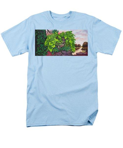 Flower Garden Viii Men's T-Shirt  (Regular Fit) by Michael Frank
