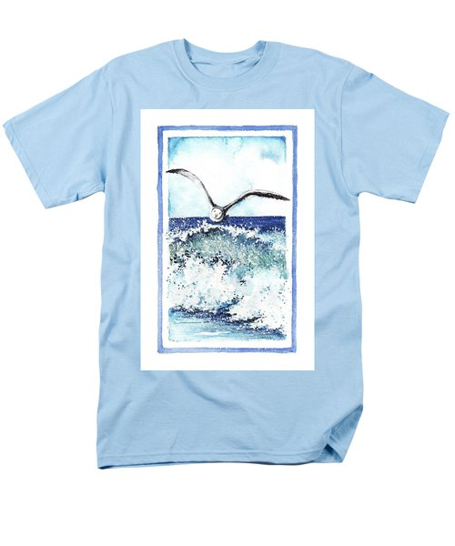 Men's T-Shirt  (Regular Fit) featuring the painting Fly High by Heidi Kriel