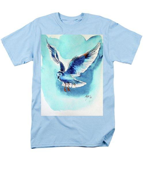 Flying Bird Men's T-Shirt  (Regular Fit) by Kovacs Anna Brigitta