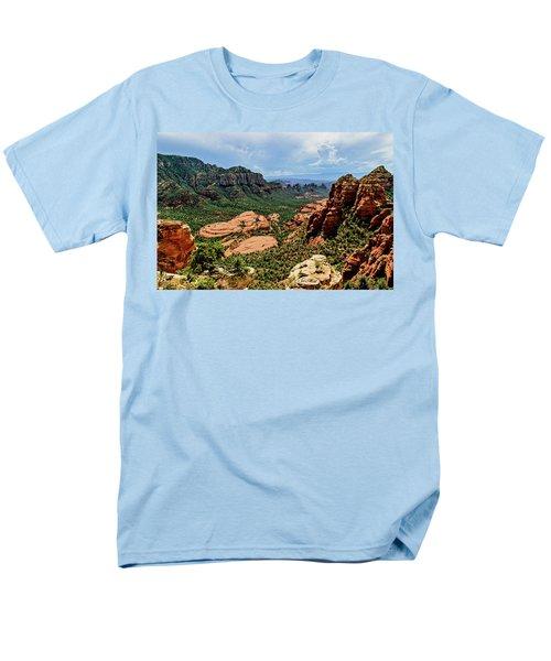Flying Buttress 04-097 Men's T-Shirt  (Regular Fit) by Scott McAllister