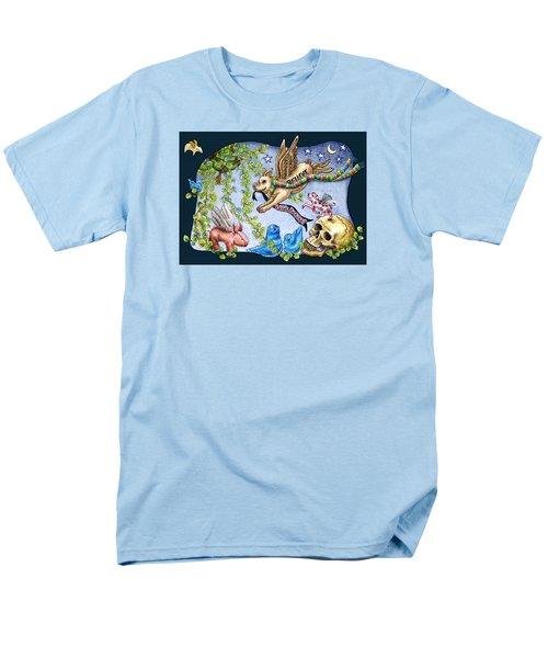 Flying Pig Party 2 Men's T-Shirt  (Regular Fit) by Retta Stephenson