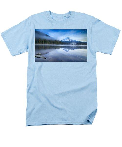 Fog And The Lake Men's T-Shirt  (Regular Fit) by Lynn Hopwood