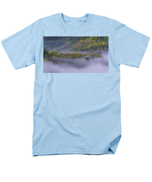 Fog In The Hills Men's T-Shirt  (Regular Fit) by Ulrich Burkhalter