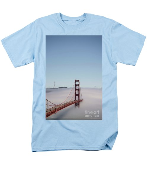 Men's T-Shirt  (Regular Fit) featuring the photograph Foggy Golden Gate by David Bearden