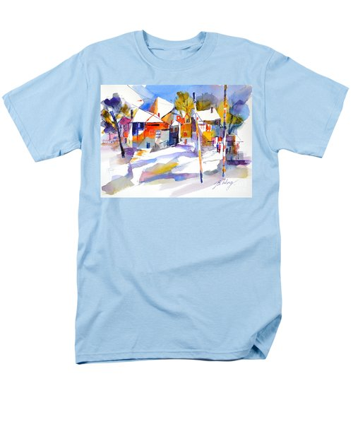 For Love Of Winter #2 Men's T-Shirt  (Regular Fit) by Betty M M Wong