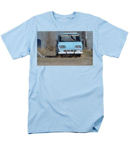 Ford Light Blue Men's T-Shirt  (Regular Fit) by Renie Rutten