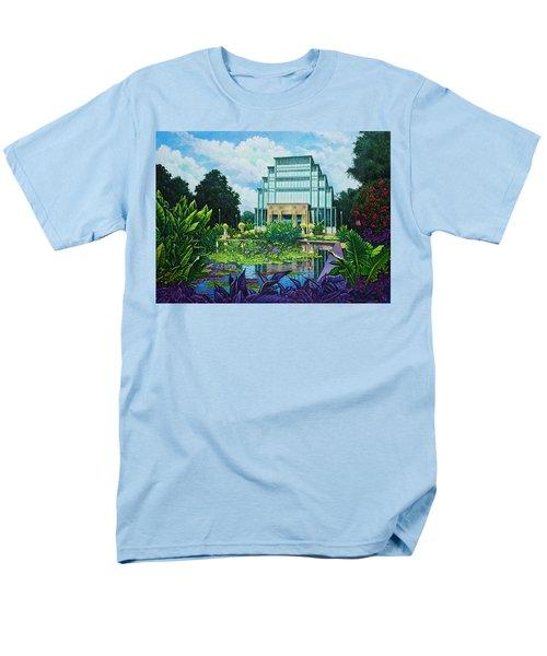 Forest Park Jewel Box Men's T-Shirt  (Regular Fit) by Michael Frank