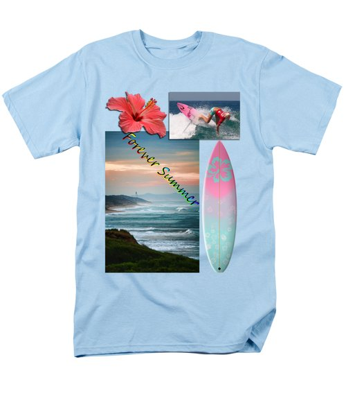 Men's T-Shirt  (Regular Fit) featuring the photograph Forever Summer 5 by Linda Lees
