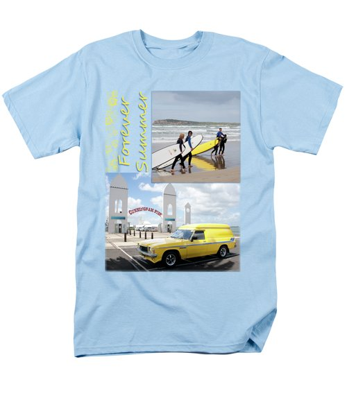 Men's T-Shirt  (Regular Fit) featuring the photograph Forever Summer 6 by Linda Lees