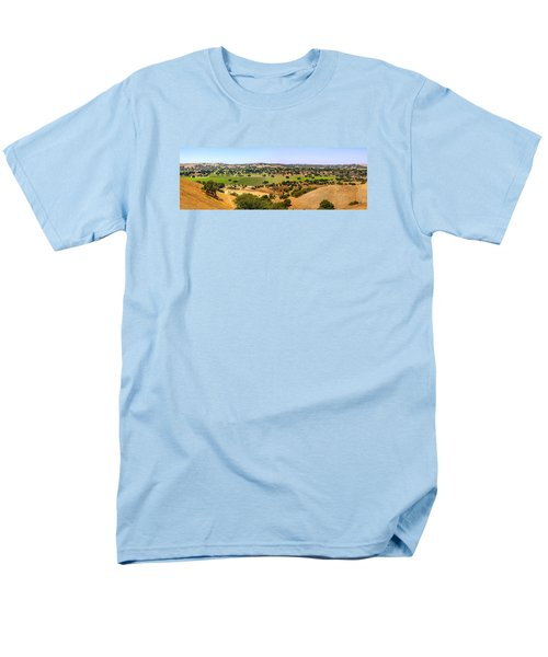 Foxen Canyon California Men's T-Shirt  (Regular Fit) by Chris Smith