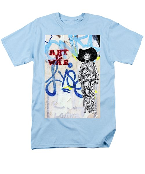 Men's T-Shirt  (Regular Fit) featuring the photograph Freedom Fighter by Art Block Collections