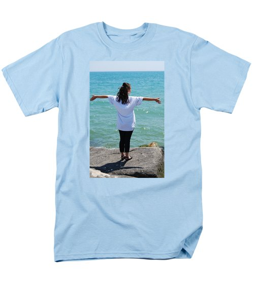 Men's T-Shirt  (Regular Fit) featuring the photograph Freedom by Ramona Whiteaker