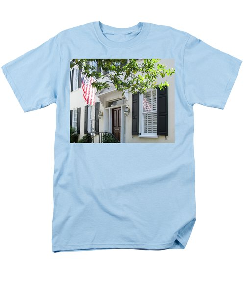 Freedom Reflected Men's T-Shirt  (Regular Fit) by Ed Waldrop