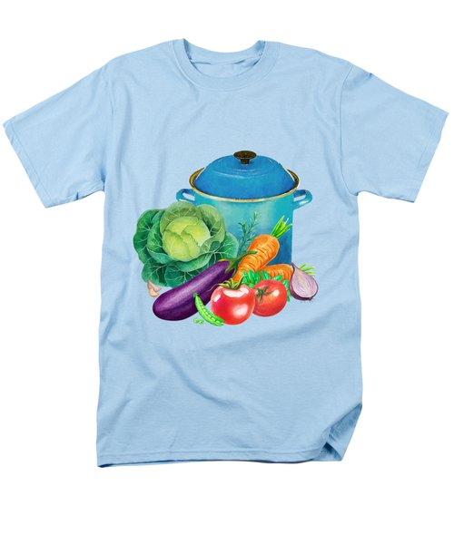 Fresh Vegetable Bounty Men's T-Shirt  (Regular Fit) by Little Bunny Sunshine