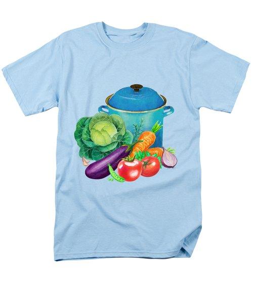 Fresh Vegetable Bounty Men's T-Shirt  (Regular Fit)