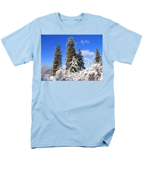 Men's T-Shirt  (Regular Fit) featuring the photograph Fresh Winter Solitude by Will Borden