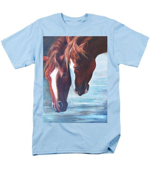 Friends For Life Men's T-Shirt  (Regular Fit) by Karen Kennedy Chatham