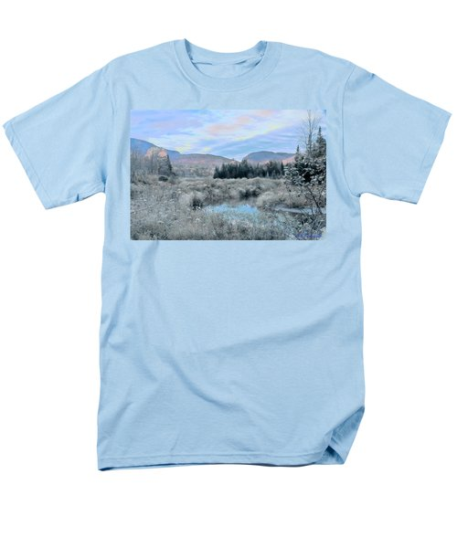 Frost On The Bogs Men's T-Shirt  (Regular Fit)