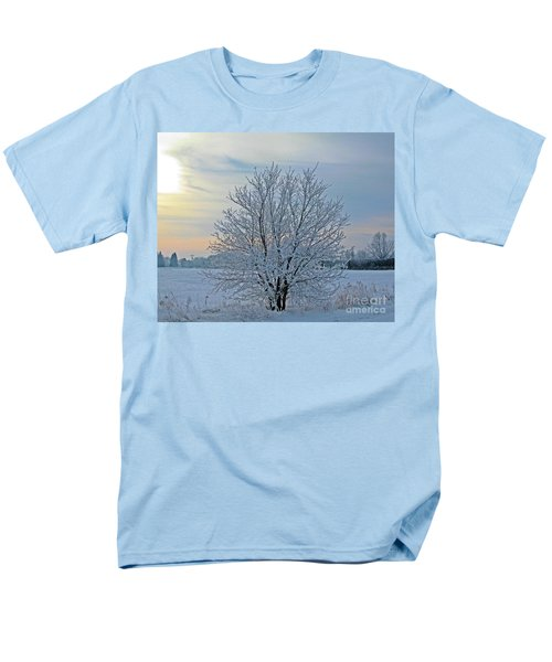 Men's T-Shirt  (Regular Fit) featuring the photograph Frosted Sunrise by Heather King