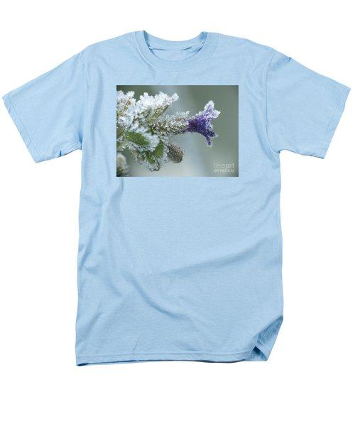 Frosty Flower Men's T-Shirt  (Regular Fit) by Odon Czintos