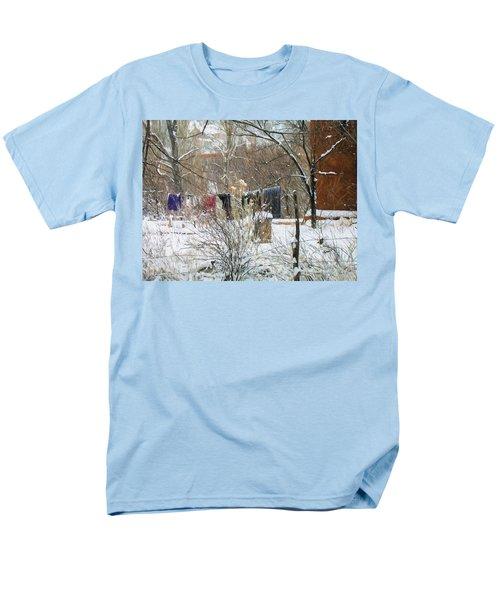 Frozen Laundry Men's T-Shirt  (Regular Fit)
