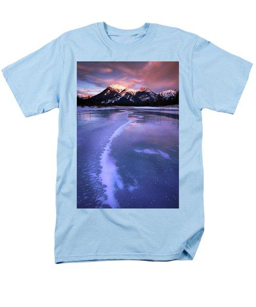 Frozen Sunrise Men's T-Shirt  (Regular Fit) by Dan Jurak