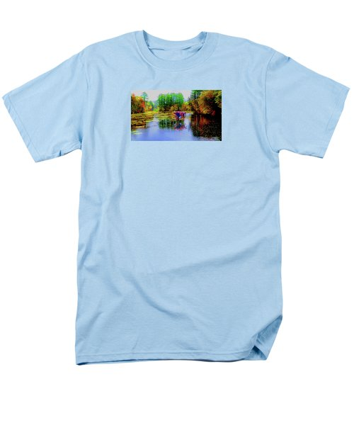 Men's T-Shirt  (Regular Fit) featuring the photograph Get Your Own Cream by Mike Breau