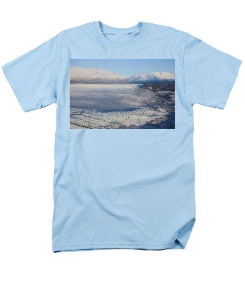 Glacier In Alaska Men's T-Shirt  (Regular Fit) by Jingjits Photography