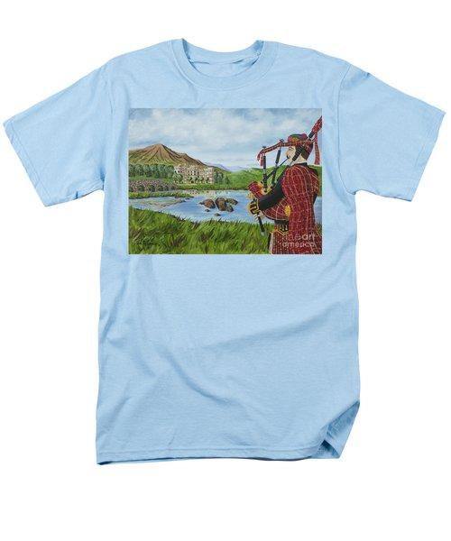 Going Home Men's T-Shirt  (Regular Fit) by Val Miller