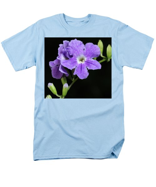 Men's T-Shirt  (Regular Fit) featuring the photograph Golden Dewdrop II by Richard Rizzo
