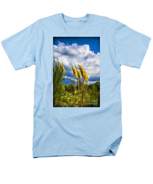 Men's T-Shirt  (Regular Fit) featuring the photograph Golden Fluff by Rick Bragan