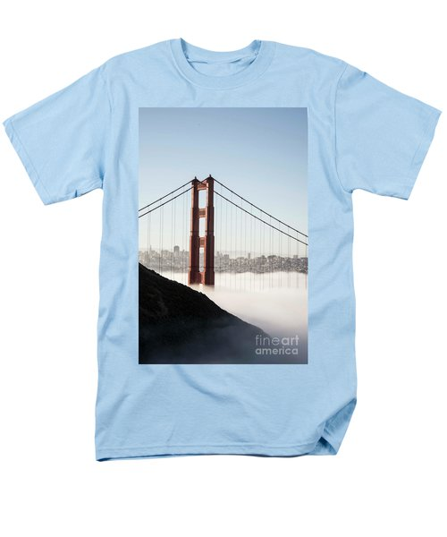 Men's T-Shirt  (Regular Fit) featuring the photograph Golden Gate And Marin Highlands by David Bearden