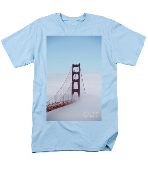 Men's T-Shirt  (Regular Fit) featuring the photograph Golden Gate Fogged - 3 by David Bearden