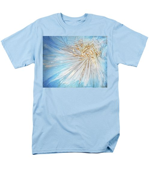 Men's T-Shirt  (Regular Fit) featuring the mixed media Golden Sunshine by Angela Stout