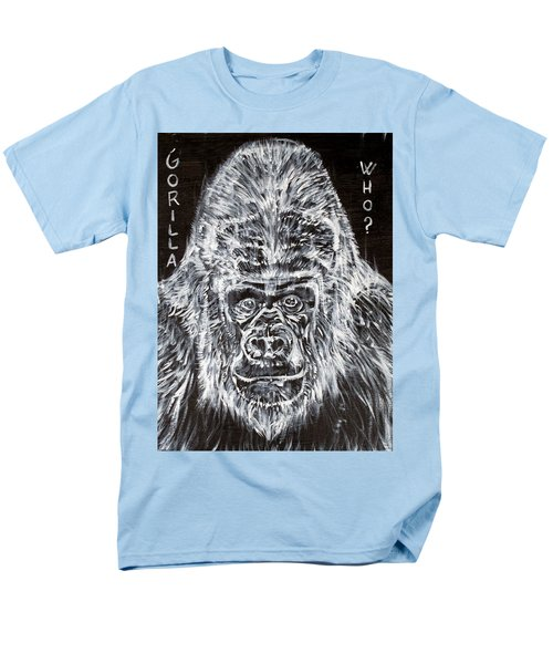 Men's T-Shirt  (Regular Fit) featuring the painting Gorilla Who? by Fabrizio Cassetta