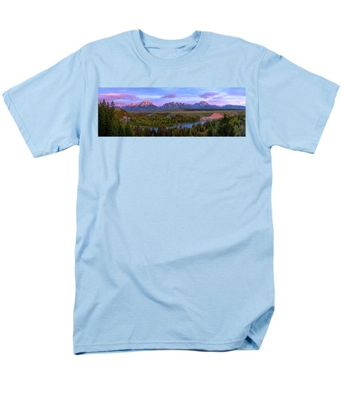 Grand Tetons Men's T-Shirt  (Regular Fit) by Chad Dutson