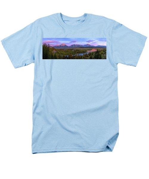 Grand Tetons Men's T-Shirt  (Regular Fit)