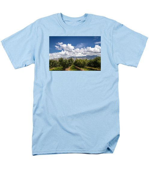 Grand Valley Orchards Men's T-Shirt  (Regular Fit) by Teri Virbickis