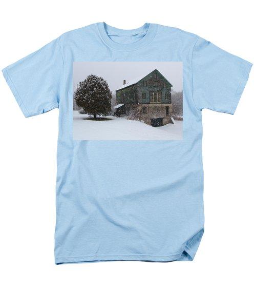 Grist Mill Of Port Hope Men's T-Shirt  (Regular Fit) by Davandra Cribbie