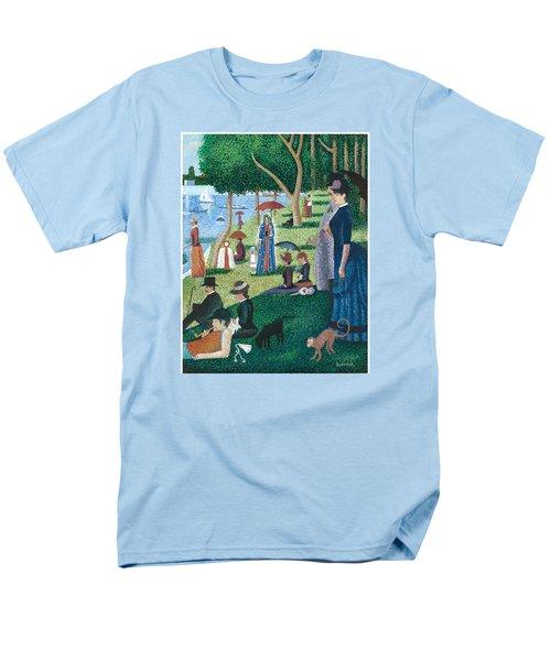 Guadalupe Visits Seuart Men's T-Shirt  (Regular Fit) by James Roderick