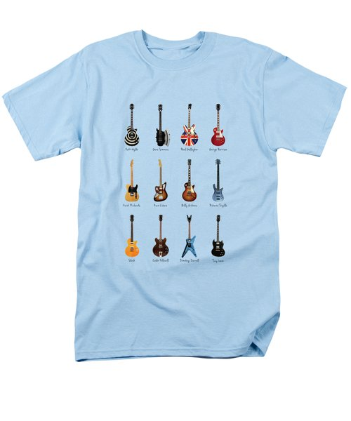 Guitar Icons No2 Men's T-Shirt  (Regular Fit) by Mark Rogan