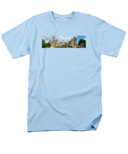 Ha Ha Tonka Castle Panorama Men's T-Shirt  (Regular Fit) by Jennifer White