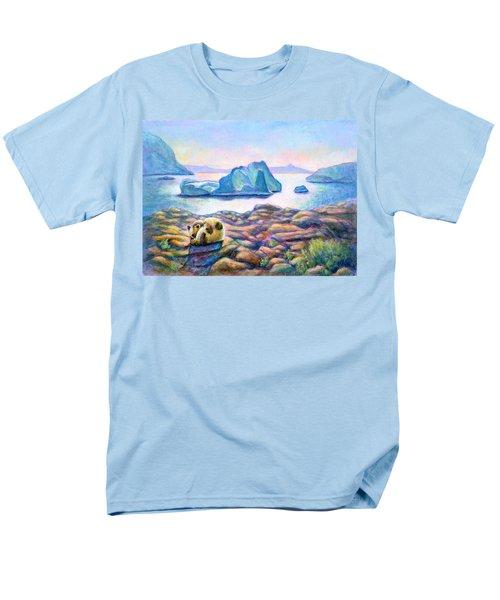 Half Hidden Men's T-Shirt  (Regular Fit) by Retta Stephenson