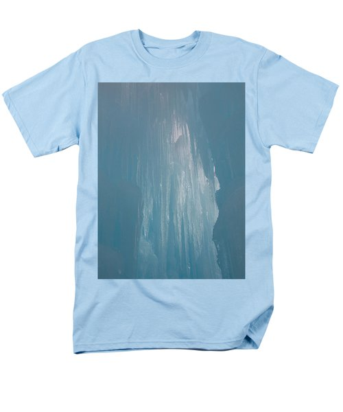 Hanging Icicles Men's T-Shirt  (Regular Fit) by Catherine Gagne