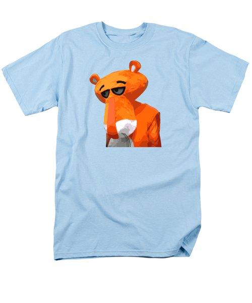 Happy Panther Men's T-Shirt  (Regular Fit) by Jirka Svetlik